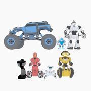 Fjärrstyrda leksaker 3d model