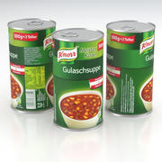 Knorr Gulaschsuppe Goulash Soppa Can 500g 2019 3d model