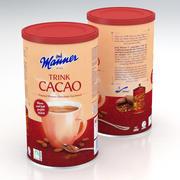 Manner Drink Cacao 450g 2019 3d model