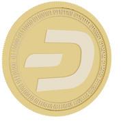 dash gold coin 3d model