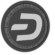 dash black coin 3d model