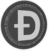 doge black coin 3d model