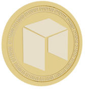 neo gold coin 3d model