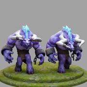 3D Model League Of Legends Championship Alistar 3d model