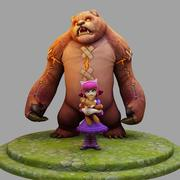 3D 모델 League Of Legends Championship Annie 3d model