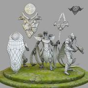 3D 모델 리그 오브 레전드 챔피언십 아 지르 3d model