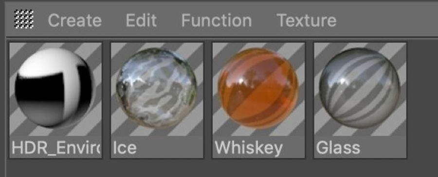 Whiskey Glass Square royalty-free 3d model - Preview no. 12