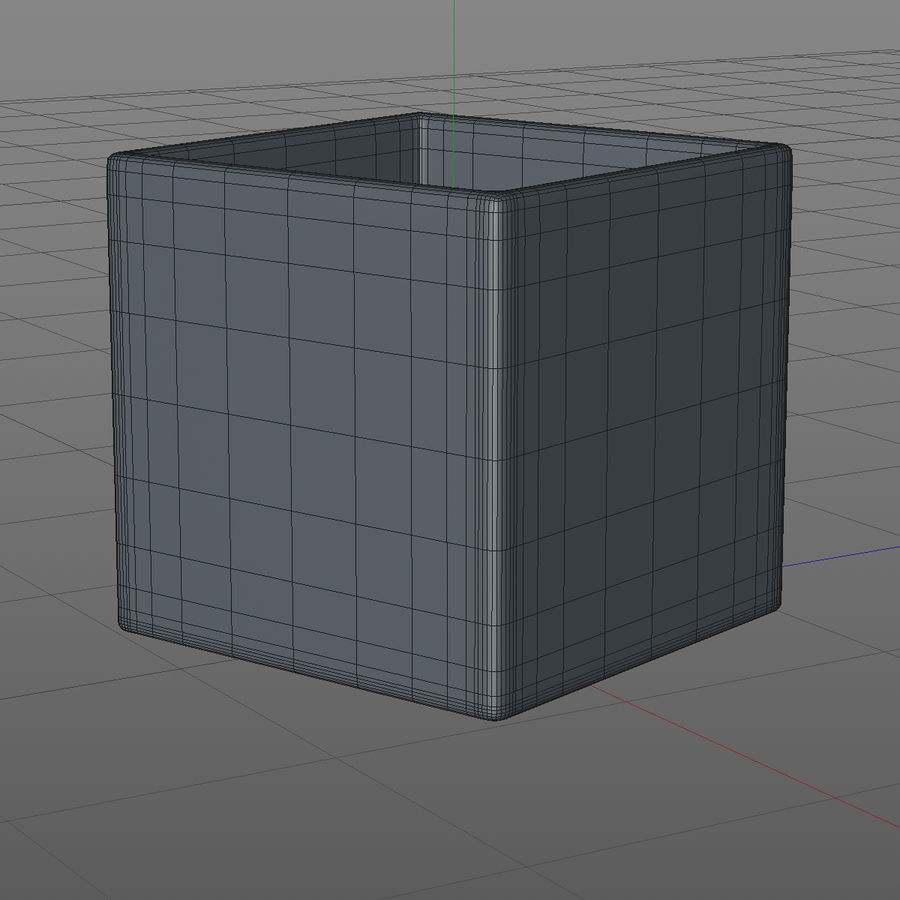 Whiskey Glass Square royalty-free 3d model - Preview no. 6