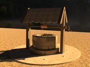 Pozzo d'acqua 3d model