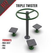 Triple Twister ESTERNO 3d model