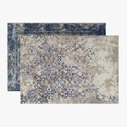 Set di tappeti Antigua Fade Patterned e Lavita 3d model