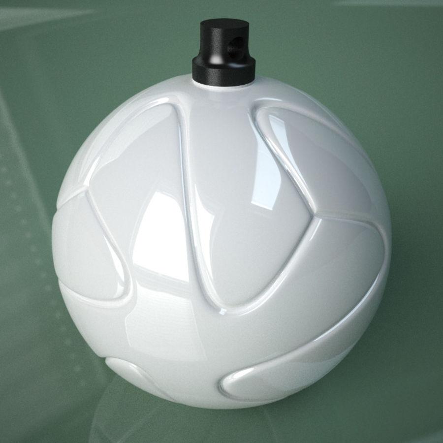 3D可打印足球火箭筒球饰品 royalty-free 3d model - Preview no. 1