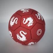 Bola de futebol de tecido Monta 3d model