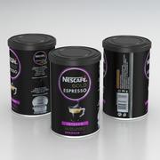 Nescafe Gold Espresso 95g Can 2019 3d model