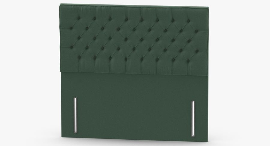 Headboard 01 Mint royalty-free 3d model - Preview no. 5