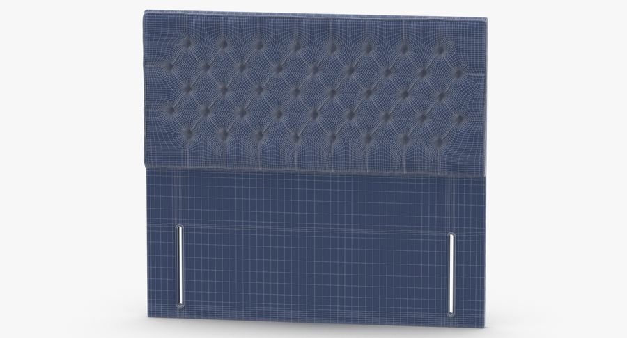 Headboard 01 Mint royalty-free 3d model - Preview no. 13