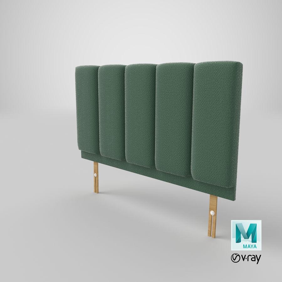 Изголовье 02 Mint royalty-free 3d model - Preview no. 29