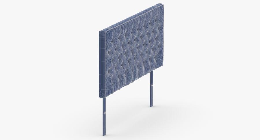 Headboard 06 Blush royalty-free 3d model - Preview no. 12