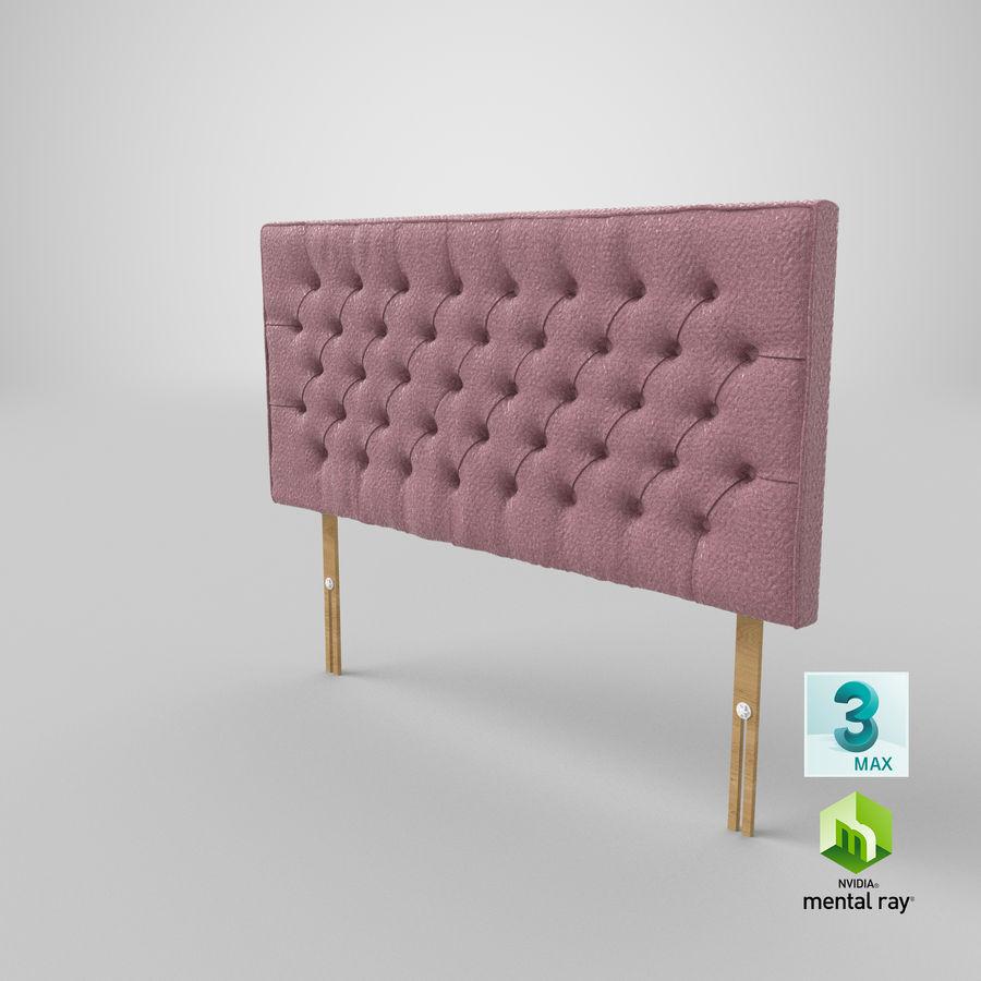 Headboard 06 Blush royalty-free 3d model - Preview no. 25