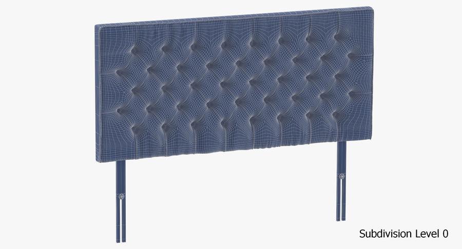Headboard 06 Blush royalty-free 3d model - Preview no. 18