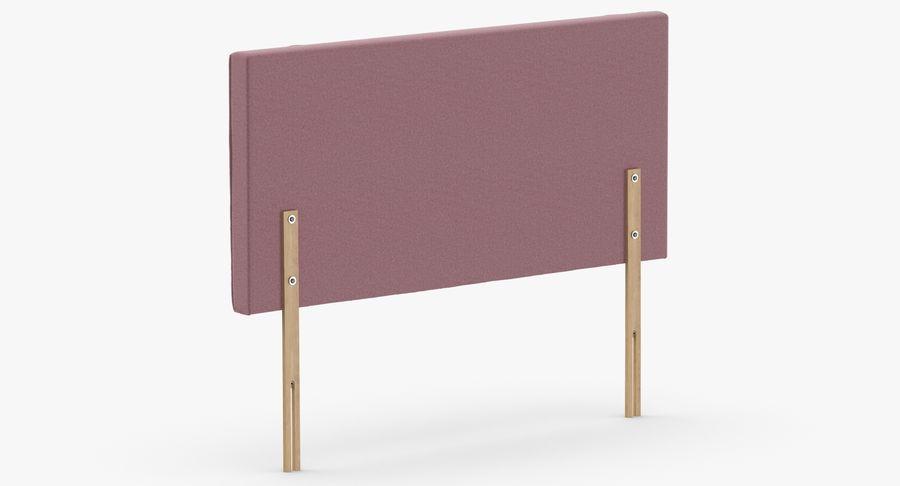 Headboard 06 Blush royalty-free 3d model - Preview no. 6
