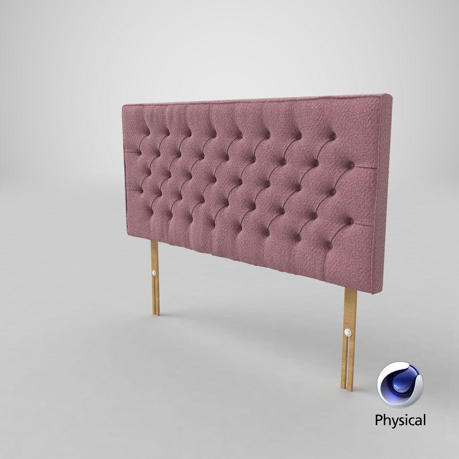 Headboard 06 Blush royalty-free 3d model - Preview no. 22