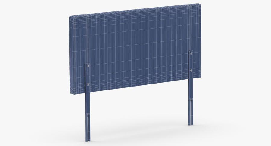Headboard 06 Blush royalty-free 3d model - Preview no. 14
