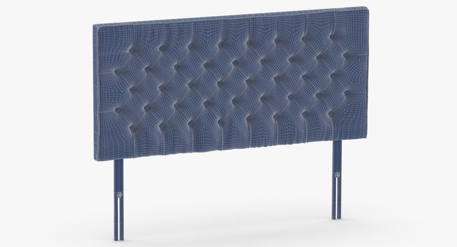 Headboard 06 Charcoal royalty-free 3d model - Preview no. 11