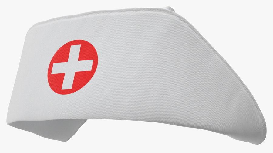 Sjuksköterska Cap royalty-free 3d model - Preview no. 7