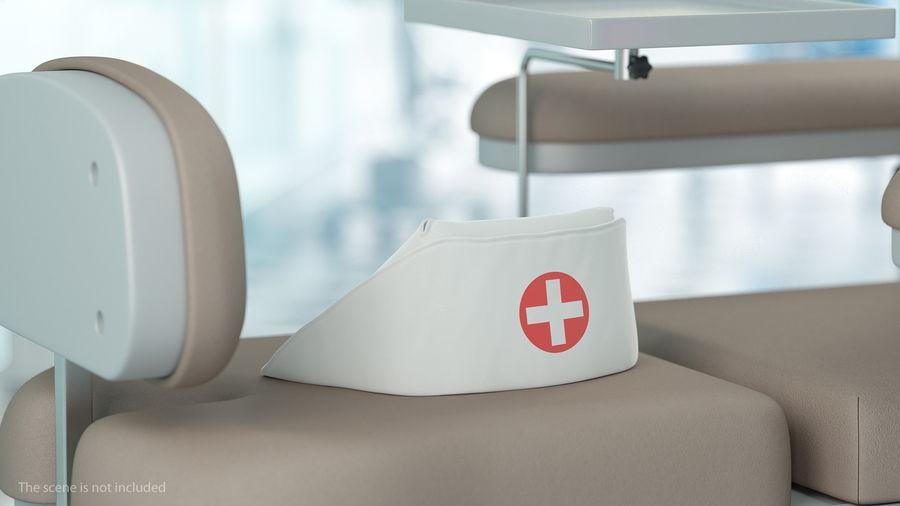 Sjuksköterska Cap royalty-free 3d model - Preview no. 5