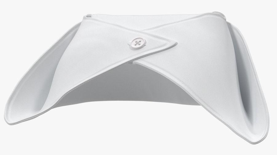 Sjuksköterska Cap royalty-free 3d model - Preview no. 9