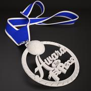 """3D Printable Medal Style 2 """"1st Place"""" 3d model"""