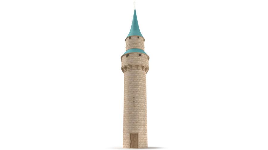 Schlossturm royalty-free 3d model - Preview no. 5