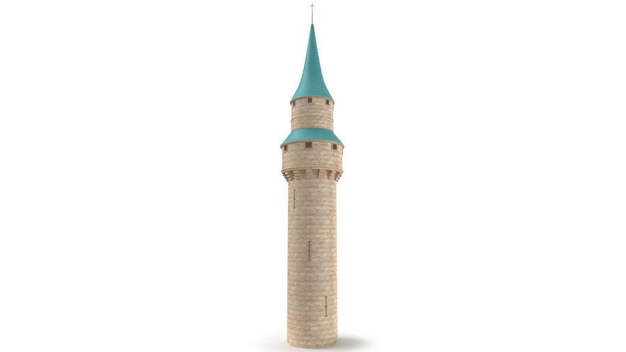 Schlossturm royalty-free 3d model - Preview no. 2