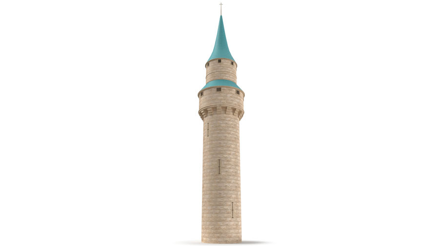 Torre do Castelo royalty-free 3d model - Preview no. 4