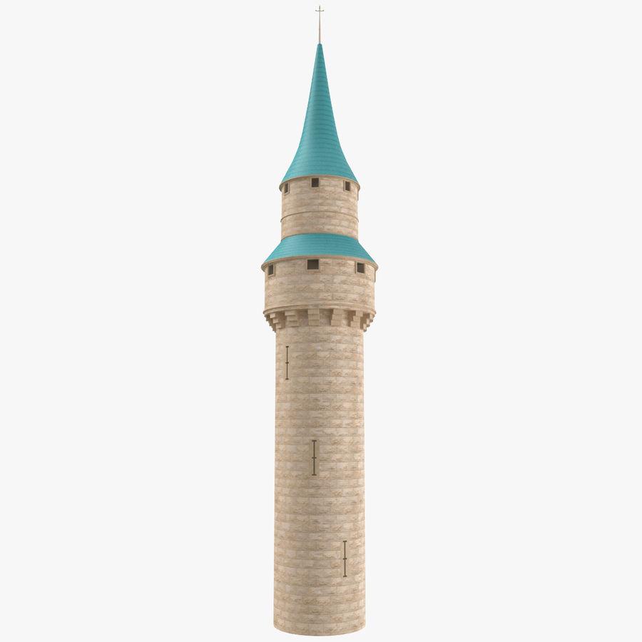 Torre do Castelo royalty-free 3d model - Preview no. 1