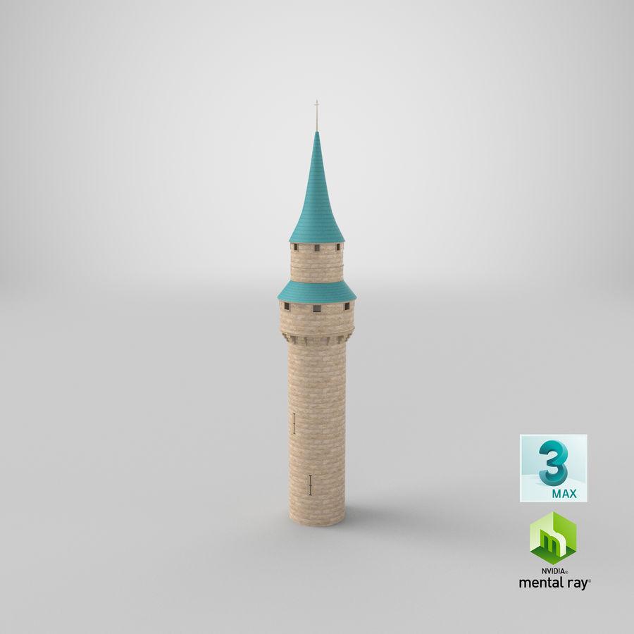 Schlossturm royalty-free 3d model - Preview no. 16