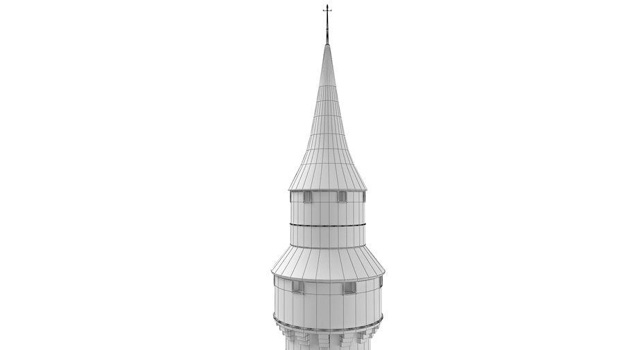 Schlossturm royalty-free 3d model - Preview no. 10