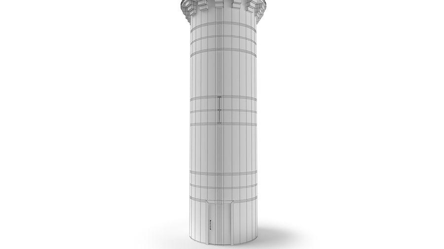 Schlossturm royalty-free 3d model - Preview no. 11