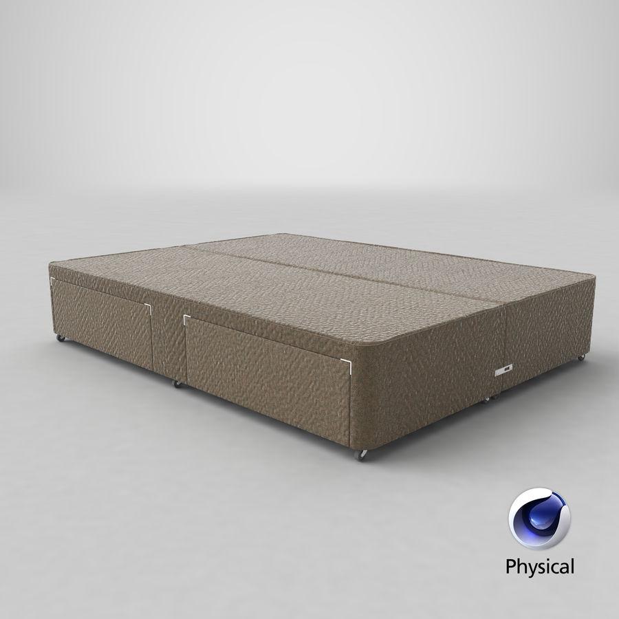 ベッドベース01オートミール1 royalty-free 3d model - Preview no. 22