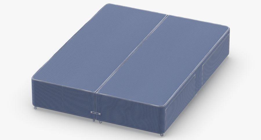 ベッドベース01オートミール1 royalty-free 3d model - Preview no. 14