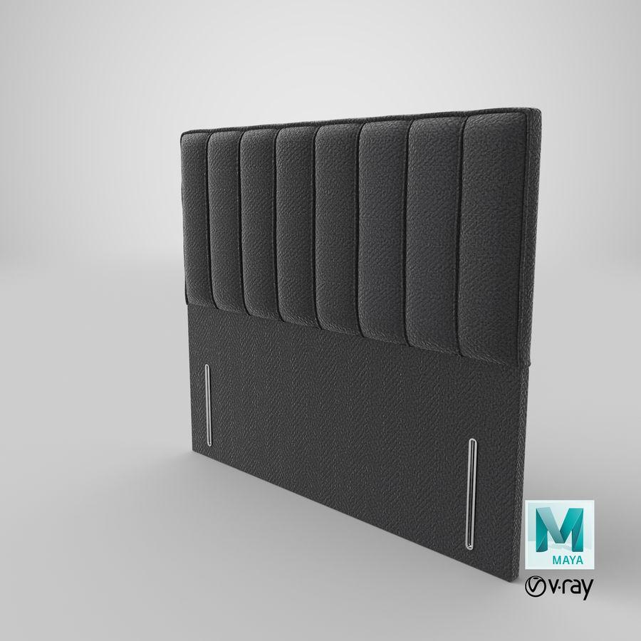 Изголовье 04 Древесный уголь royalty-free 3d model - Preview no. 28