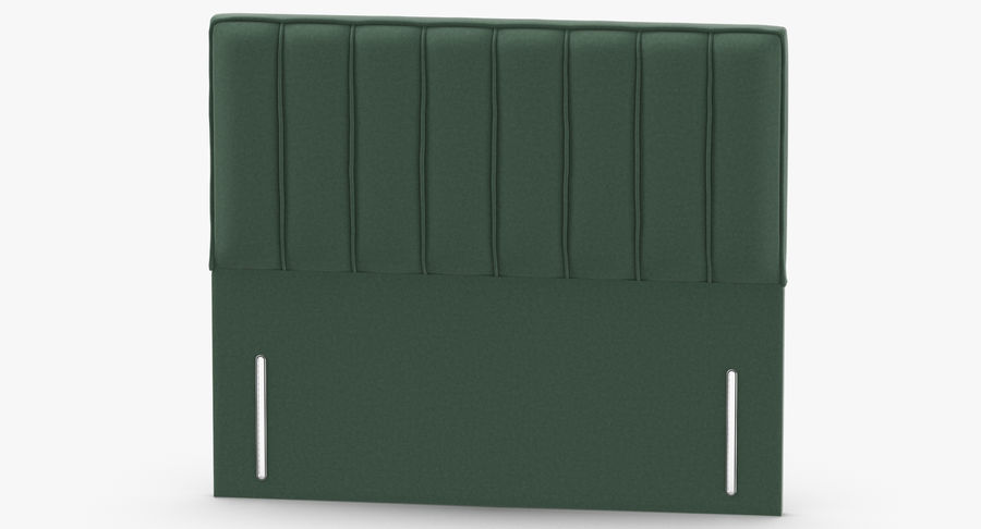 Headboard 04 Mint royalty-free 3d model - Preview no. 5
