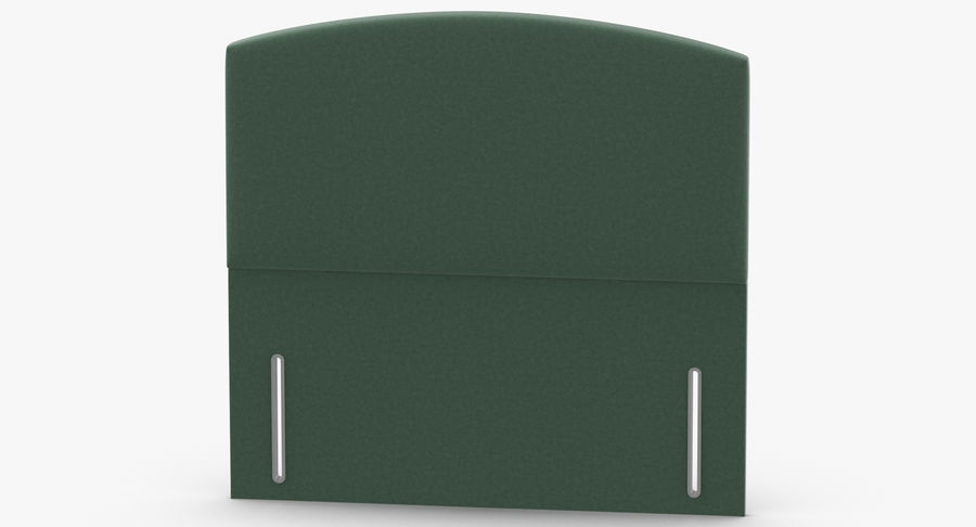Headboard 05 Mint royalty-free 3d model - Preview no. 5