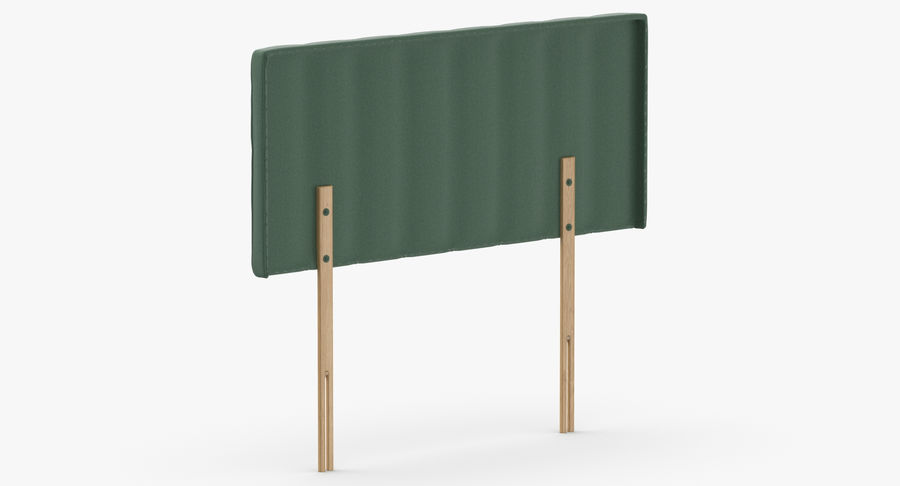 Headboard 10 Mint royalty-free 3d model - Preview no. 6