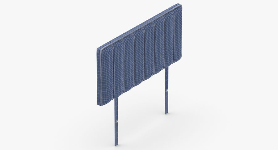 Headboard 10 Mint royalty-free 3d model - Preview no. 15