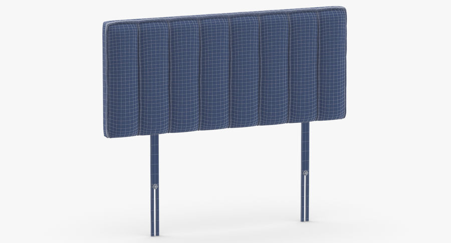 Headboard 10 Mint royalty-free 3d model - Preview no. 11