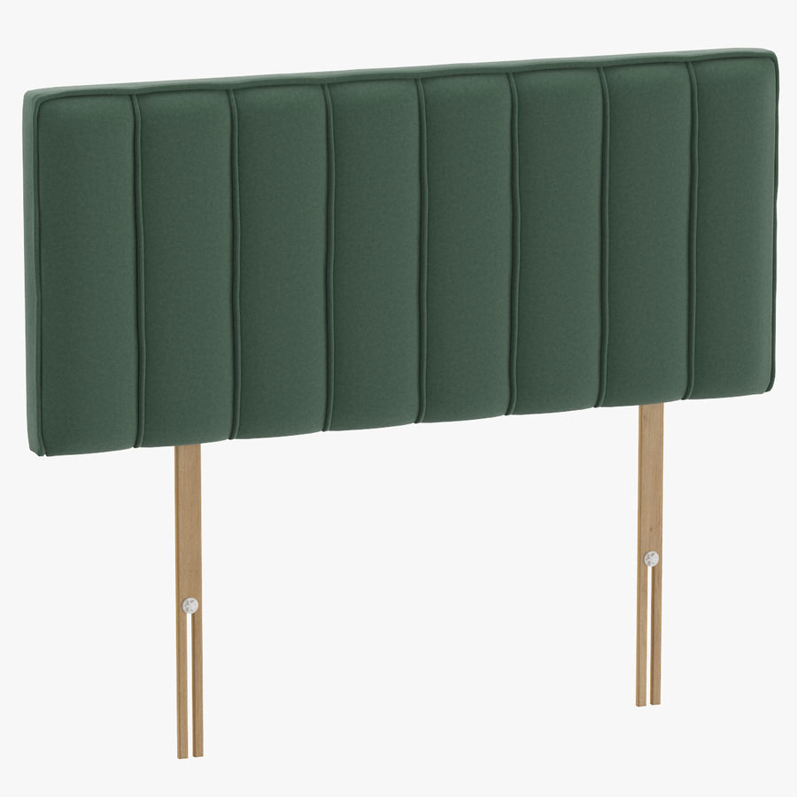 Headboard 10 Mint royalty-free 3d model - Preview no. 1