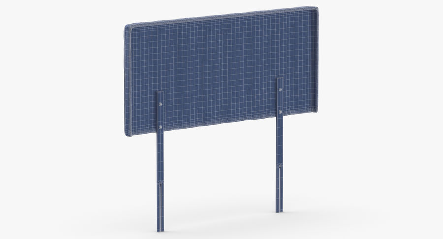 Headboard 10 Mint royalty-free 3d model - Preview no. 14