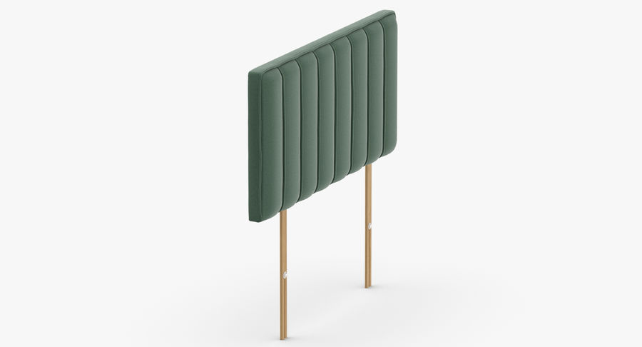Headboard 10 Mint royalty-free 3d model - Preview no. 4